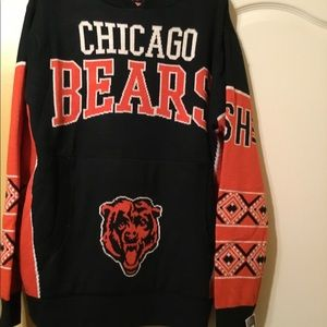 Chicago Bears Men Sweater hoodie size L